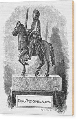 Charlemagne (742-814) Wood Print by Granger