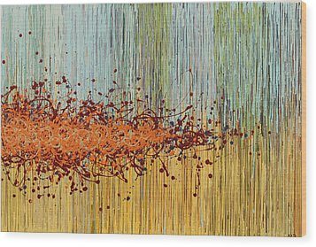 Untitled Wood Print by Kate Tesch