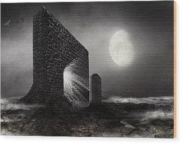 No Title... Wood Print by Mariusz Zawadzki