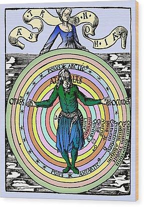 16th-century Astronomy Wood Print by Cordelia Molloy