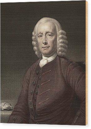 1767 John Harrison & Marine Timekeeper H4 Wood Print by Paul D Stewart