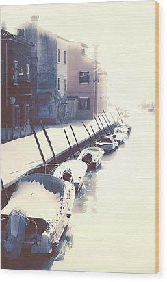 Burano Wood Print by Joana Kruse