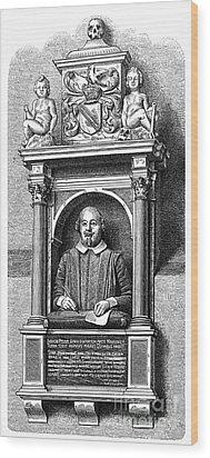 William Shakespeare Wood Print by Granger