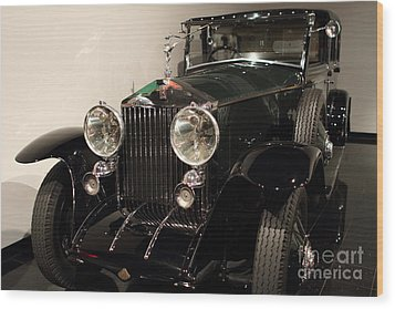 1927 Rolls Royce Phantom 1 Towncar - 7d17195 Wood Print by Wingsdomain Art and Photography