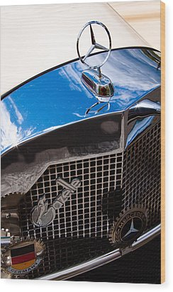 1929 Mercedes Ssk Gazelle Roadster Wood Print by David Patterson