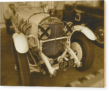 1930 Mercedes Benz 710 Ss Rennsport Wood Print by John Colley