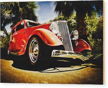 1930s Ford Tudor Wood Print by Phil 'motography' Clark