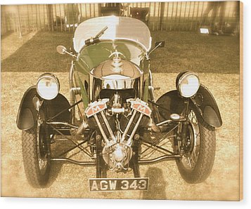 1930s Three Wheel Morgan Wood Print by John Colley