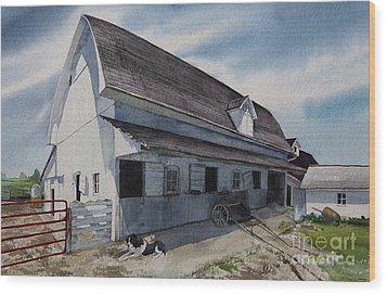 1931 Barn Wood Print