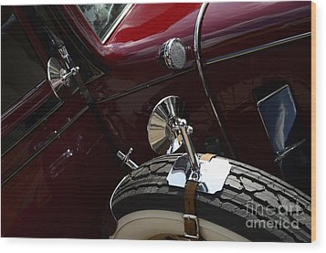 1932 Chevrolet Detail Wood Print by Bob Christopher