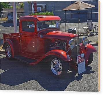 1932 Ford Pick Up Wood Print by Tikvah's Hope