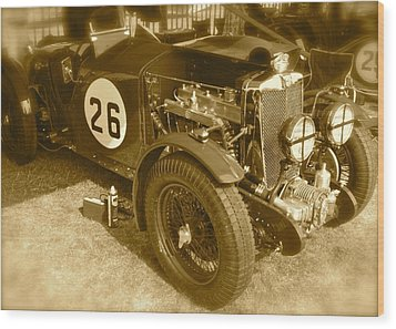 1934 Mg N-type Wood Print by John Colley