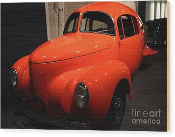 1937 Airomobile . 7d17314 Wood Print by Wingsdomain Art and Photography