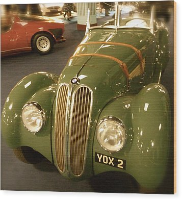 1937 Bmw 328 Wood Print by John Colley