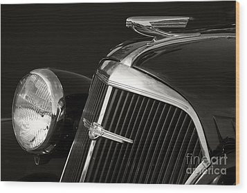 1937 Chevy Wood Print by Dennis Hedberg