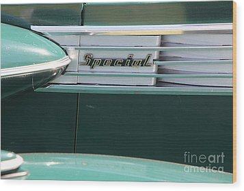 1938 Buick Special . 5d16226 Wood Print by Wingsdomain Art and Photography