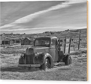 1939 Ford Truck Bodie Ca Wood Print by Troy Montemayor