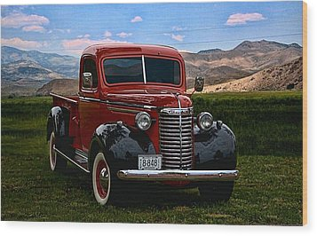 1940 Chevrolet Pickup Truck Wood Print by Tim McCullough