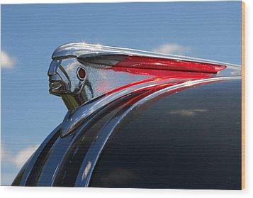 1948 Pontiac Silver Streak Hood Ornament Wood Print by Gordon Dean II