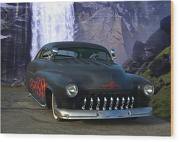 1949 Mercury Low Rider Wood Print by Tim McCullough