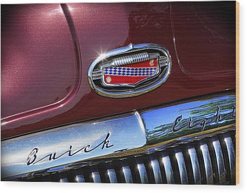 Wood Print featuring the photograph 1951 Buick Eight by Gordon Dean II