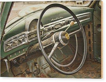 1951 Nash Ambassador Interior Wood Print by James BO  Insogna