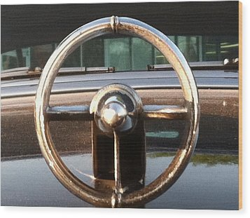 Wood Print featuring the photograph 1952 Buick by Elizabeth Coats
