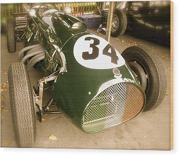 1952 Cooper Bristol Mk1 T20 Wood Print