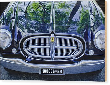 1952 Ferrari 212 Vignale Front End Wood Print by Jill Reger