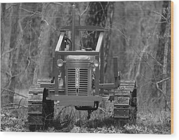 1953 Oliver Tractor Wood Print