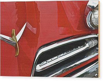 1953 Studebaker Champion Wood Print by Bill Owen