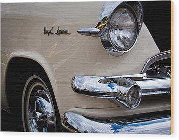 1955 Dodge Royal Lancer Sedan Wood Print by David Patterson
