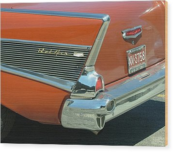 1957 Chevy Belair Wood Print