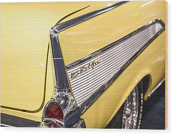 1957 Chevy Belair Wood Print by Kathleen Nelson