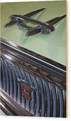 1957 Nash Statesman Super Wood Print by David Patterson