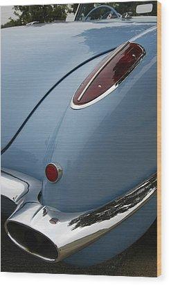 1958 Corvette Wood Print