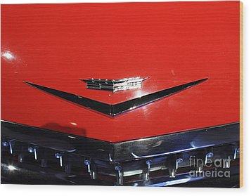 1959 Cadillac Convertible - 7d17383 Wood Print by Wingsdomain Art and Photography