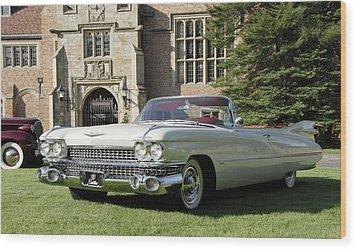 1959 Cadillac Wood Print