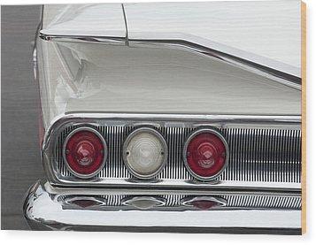 1960 Chevrolet Impala Tail Lights Wood Print by Jill Reger