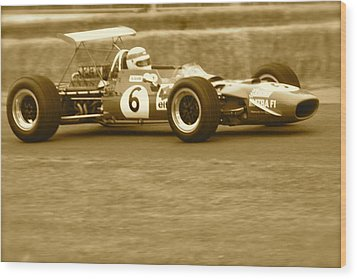 1960s Matra F1 Wood Print by John Colley