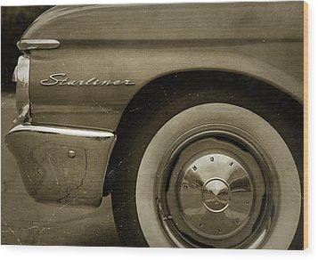 1961 Ford Starliner Wood Print by Gordon Dean II