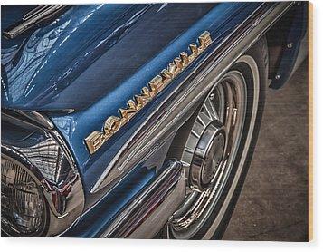 1962 Pontiac Wood Print by James Woody