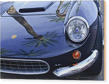 1963 Apollo Front End 2 Wood Print by Jill Reger