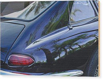 1963 Apollo Taillight Wood Print by Jill Reger