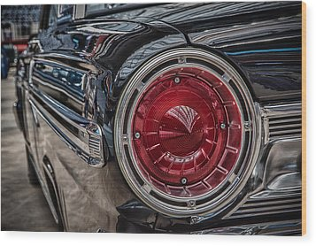 1964 Ford Wood Print by James Woody