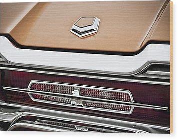 1966 Ford Thunderbird Wood Print by Gordon Dean II