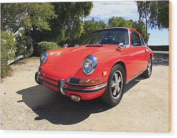 Wood Print featuring the photograph 1968 Porsche 911 by Denise Pohl
