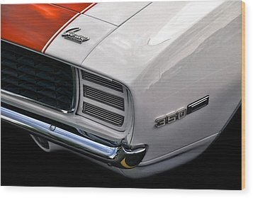1969 Chevrolet Camaro Indianapolis 500 Pace Car Wood Print by Gordon Dean II