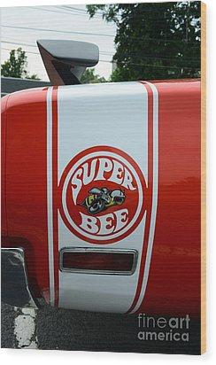 1970 Dodge Super Bee 1 Wood Print by Paul Ward
