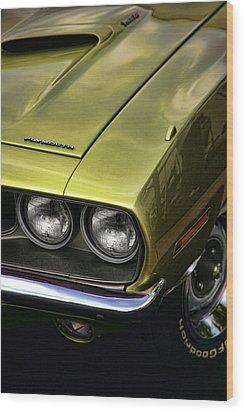 1971 Plymouth Barracuda 360 Wood Print by Gordon Dean II